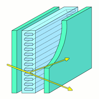 Diagram of integrated lasercut acrylic panels